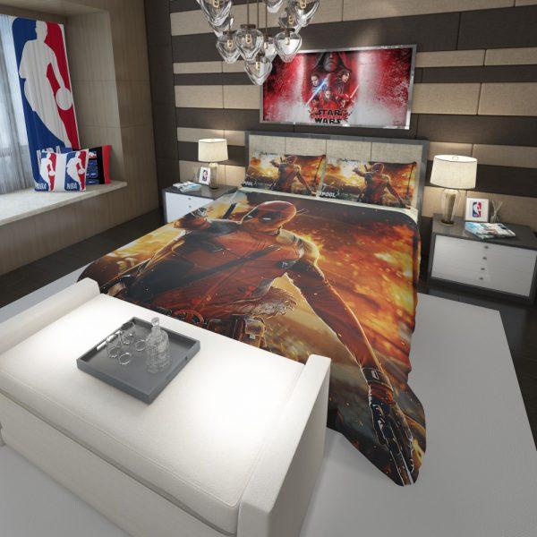 Deadpool Artwork Super Hero Comforter 3