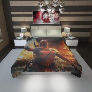 Deadpool Artwork Super Hero Duvet Cover 1