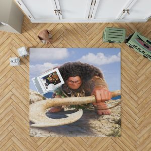 Demigod Maui Moana Disney Movie Bedroom Living Room Floor Carpet Rug 1