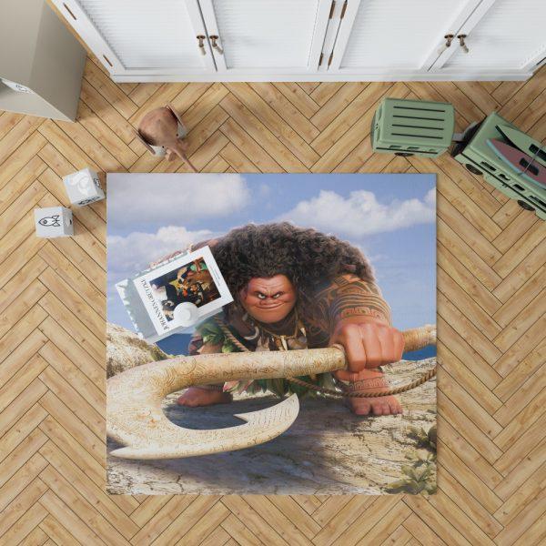 Demigod Maui Moana Disney Movie Bedroom Living Room Floor Carpet Rug 1