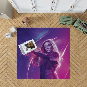 Elizabeth Olsen Wanda Maximoff Avengers Bedroom Living Room Floor Carpet Rug 1