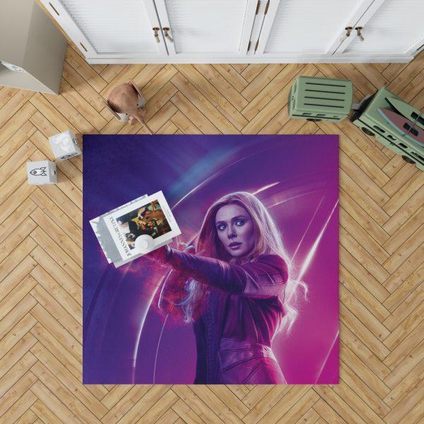 Elizabeth Olsen Wanda Maximoff Avengers Bedroom Living Room Floor Carpet Rug 1
