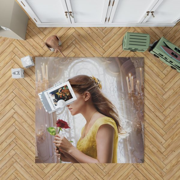 Emma Watson Beauty and the Beast Belle Bedroom Living Room Floor Carpet Rug 1