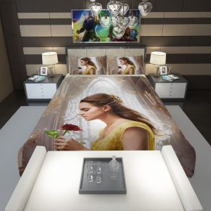 Emma Watson Beauty and the Beast Belle Comforter 1