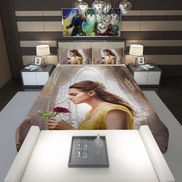 Emma Watson Beauty and the Beast Belle Comforter 1