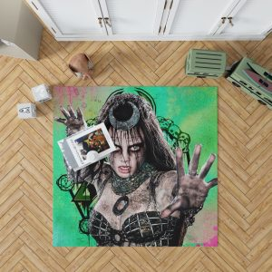 Enchantress Suicide Squad June Moone Bedroom Living Room Floor Carpet Rug 1