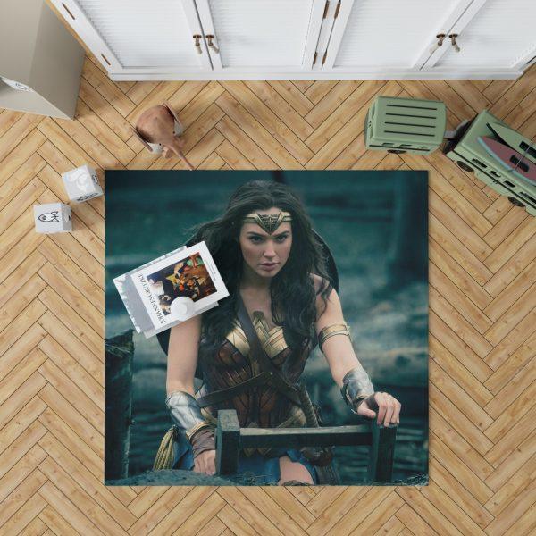Gal Gadot Wonder Woman Bedroom Living Room Floor Carpet Rug 1
