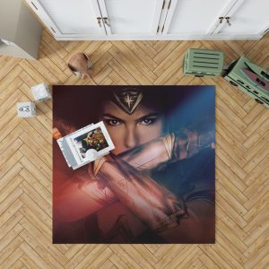 Gal Gadot Wonder Women Bedroom Living Room Floor Carpet Rug 1