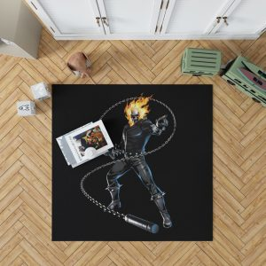 Ghost Rider Comics Bedroom Living Room Floor Carpet Rug 1