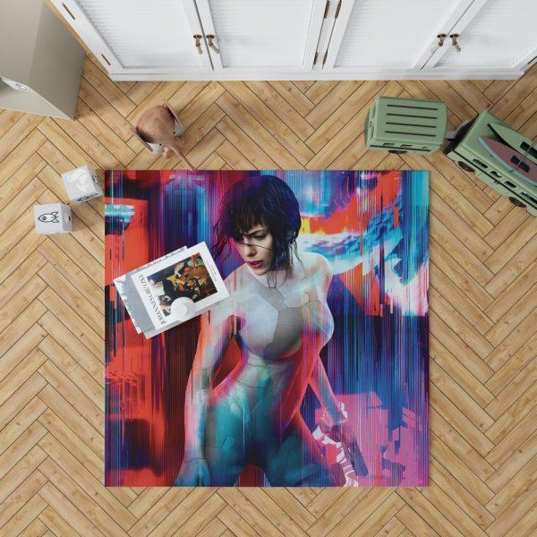 Ghost in the Shell Scarlett Johansson Bedroom Living Room Floor Carpet Rug 1