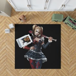 Harley Quinn Supervillain Suicide Squad Bedroom Living Room Floor Carpet Rug 1
