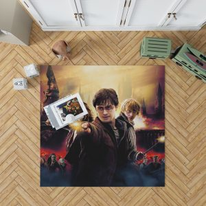 Harry Potter And The Deathly Hallows Bedroom Living Room Floor Carpet Rug 1