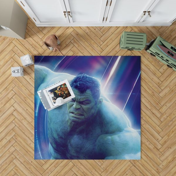 Hulk Avengers Infinity War Mark Ruffalo Bruce Banner Bedroom Living Room Floor Carpet Rug 1