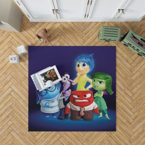 Inside Out Pixar Animation Movie Bedroom Living Room Floor Carpet Rug 1