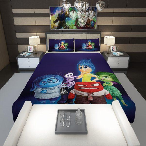 Inside Out Pixar Animation Movie Comforter 1
