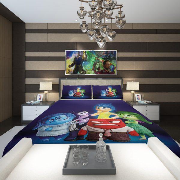 Inside Out Pixar Animation Movie Comforter 2