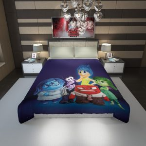 Inside Out Pixar Animation Movie Duvet Cover 1