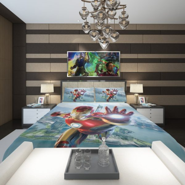 Iron Man Experience Hong Kong Disneyland Comforter 2