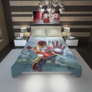 Iron Man Experience Hong Kong Disneyland Duvet Cover 1