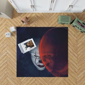 It Movie Clown Bill Skarsgard Bedroom Living Room Floor Carpet Rug 1