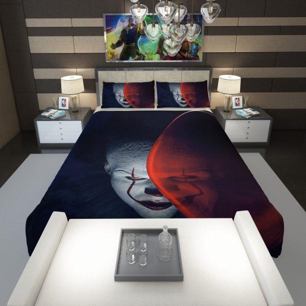 It Movie Clown Bill Skarsgard Comforter 1