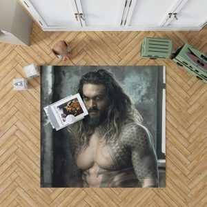 Jason Momoa Aquaman Justice League Bedroom Living Room Floor Carpet Rug 1