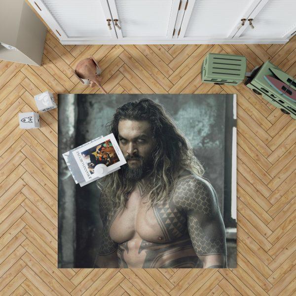Jason Momoa Aquaman Justice League Bedroom Living Room Floor Carpet Rug 1