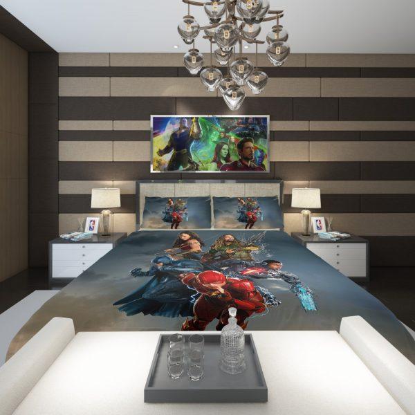 Justice League Movie Teen Bedroom Comforter 2