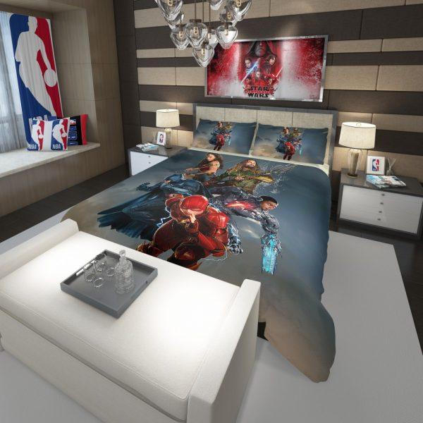 Justice League Movie Teen Bedroom Comforter 3