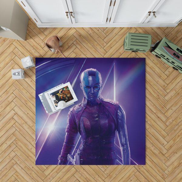 Karen Gillan Nebula Avengers Bedroom Living Room Floor Carpet Rug 1