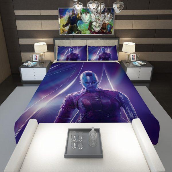 Karen Gillan Nebula Avengers Comforter 1