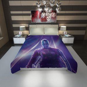 Karen Gillan Nebula Avengers Duvet Cover 1