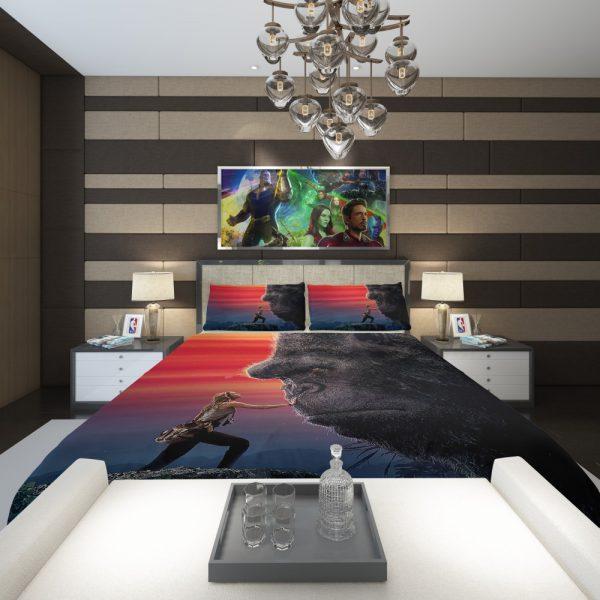 Kong Skull Island Brie Larson Comforter 2