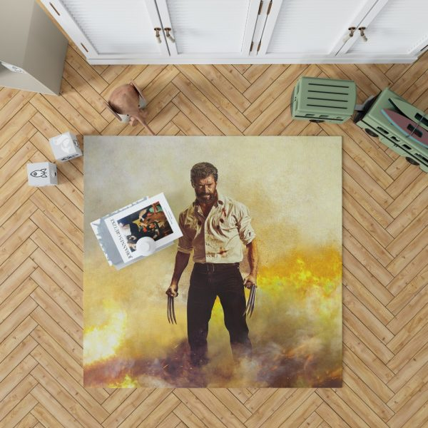 Logan Hugh Jackman Bedroom Living Room Floor Carpet Rug 1