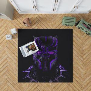 Marvel Black Panther Movie Bedroom Bedroom Living Room Floor Carpet Rug 1