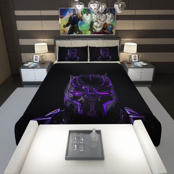 Marvel Black Panther Movie Bedroom Comforter 1