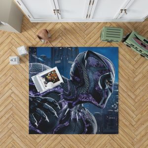 Marvel Black Panther Movie Bedroom Living Room Floor Carpet Rug 1