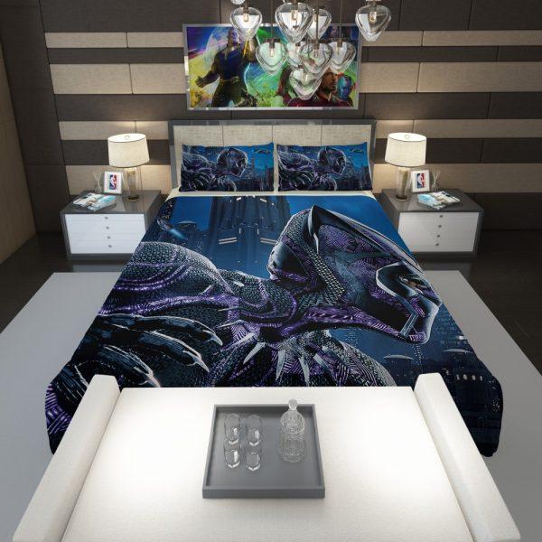 Marvel Black Panther Movie Comforter 1