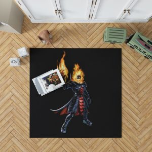 Marvel Comics Ghost Rider Bedroom Living Room Floor Carpet Rug 1