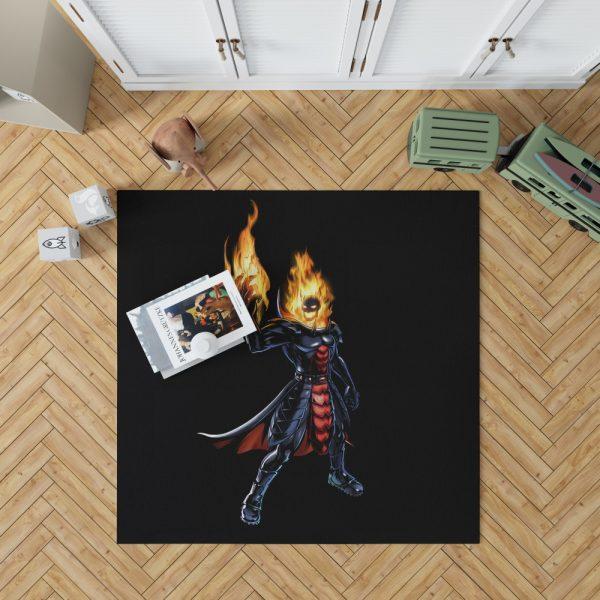 Marvel Comics Ghost Rider Bedroom Living Room Floor Carpet Rug 1