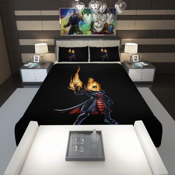Marvel Comics Ghost Rider Comforter 1