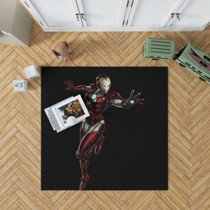 Marvel Comics Iron Woman Bedroom Living Room Floor Carpet Rug 1