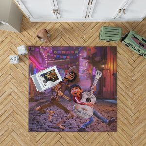 Miguel Rivera Hector Coco Disney Pixar Bedroom Living Room Floor Carpet Rug 1