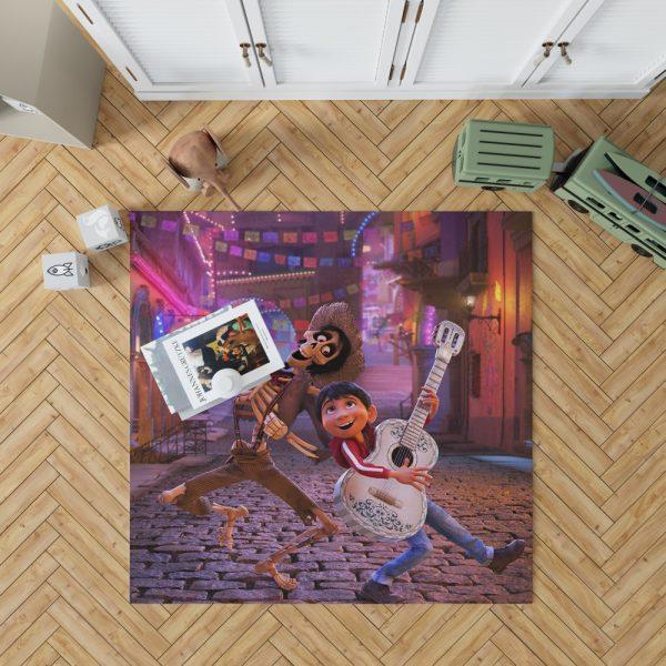 Miguel Rivera Hector Coco Disney Pixar Bedroom Living Room Floor Carpet Rug 1