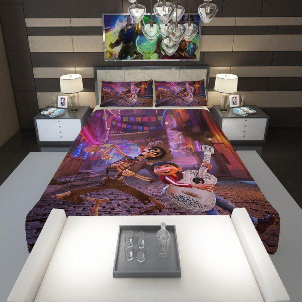 Miguel Rivera Hector Coco Disney Pixar Comforter 1