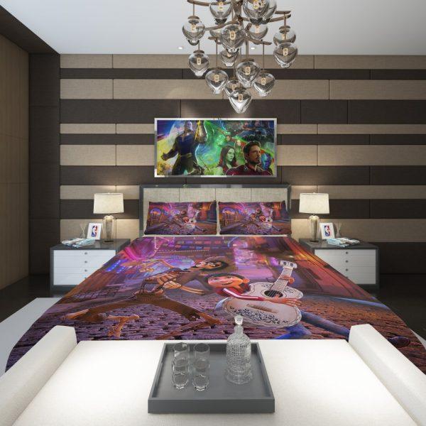 Miguel Rivera Hector Coco Disney Pixar Comforter 2