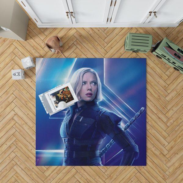 Natasha Romanoff Black Widow Marvel Avenger Bedroom Living Room Floor Carpet Rug 1