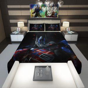 Optimus Prime Artwork Transformers Movie Comforter 1