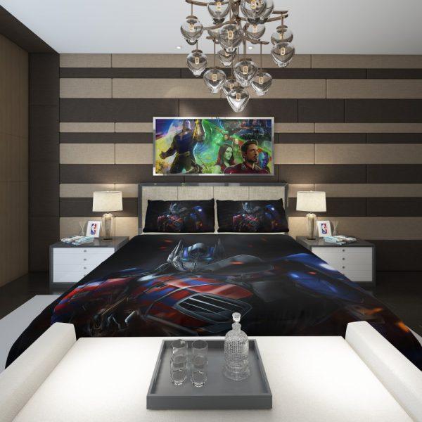 Optimus Prime Artwork Transformers Movie Comforter 2