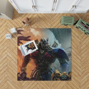 Optimus Prime Transformers the Last Knight Bedroom Living Room Floor Carpet Rug 1